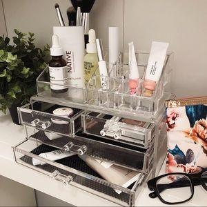 Clear Acrylic Makeup & Skincare Organizer